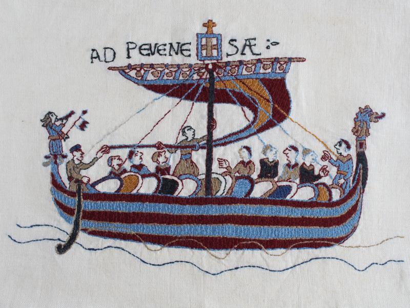Barco Vikingo Tapiz Bayeaux