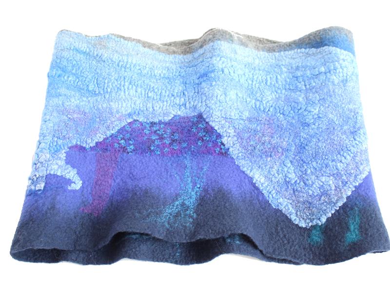 Cuellos de lana merino y seda