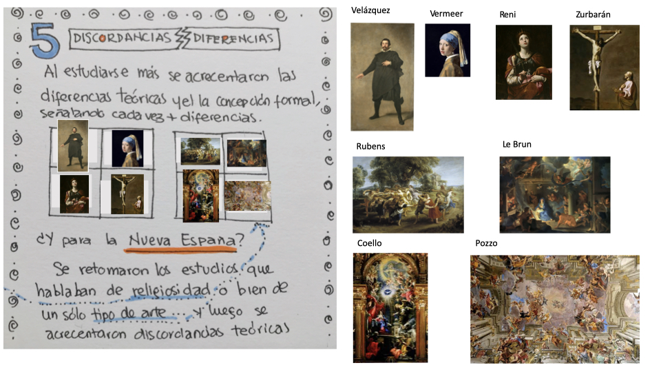 El barroco europeo también tiene diferencias