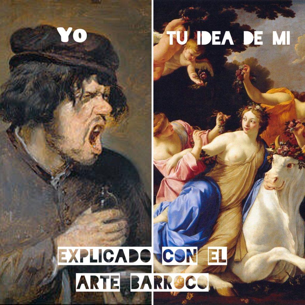 Explicado con arte barroco