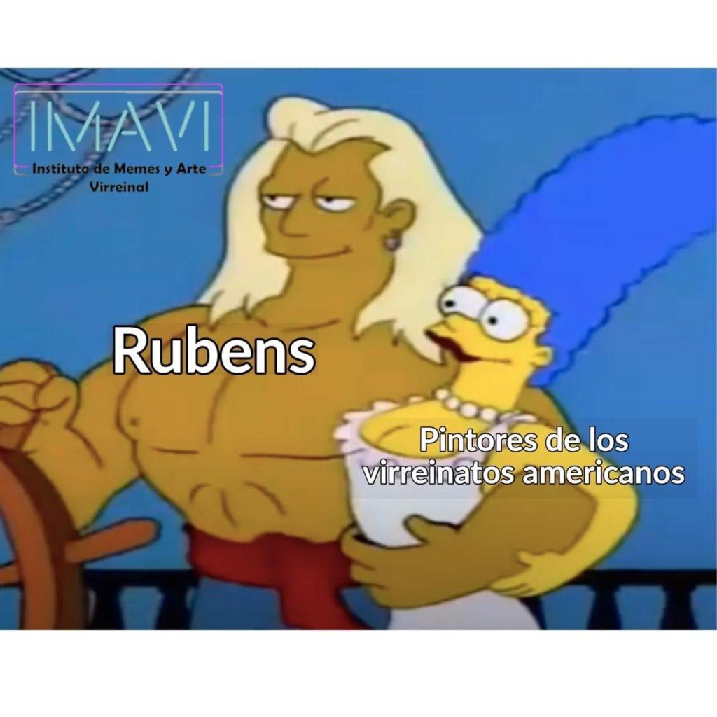 Rubens y pintores