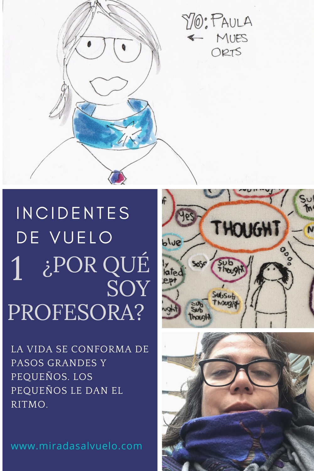Yo profesora. Incidentes vuelo
